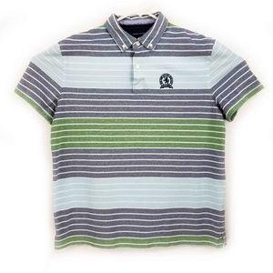 Tommy Hilfiger VTG Classic Striped Polo Size L